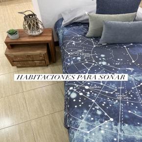 Crea espacios únicos para los tuyos donde puedan soñar!  #fundanordica #sabanas #deco #decoracion #cama #bed #homedeco #decoracioninteriores #bedroom #kidsbedroom #kidsbedroomdecor #stars #constellation #constelaciones