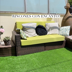 Mirad que rinconcito más bonito ocupa ya el chill out HOME SERRA que hemos sorteado este verano! No nos puede encantar más! Ahora toca disfrutarlo! Conoceis toda la colección?   #chillout #homeserra #outdoor #diseñodeexteriores #diseñodeespacios #decoracion #homedecor #deco #jardin #terraza #balcon #exterior